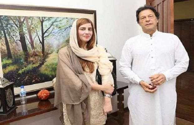 zartaj gull and imran khan