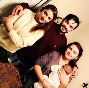 Yumna Zaidi Family